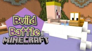 Minecraft Build Battle - BEBEZÃO E SEU PATINHO 🐥 (EM DUPLA)