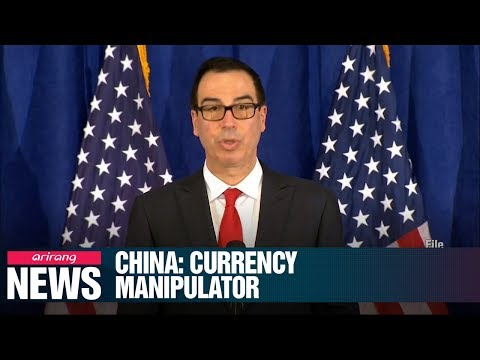 For First Time In 25 Years, U.S. Treasury Department Designates China A Currency Manipulator