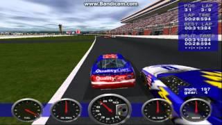 NASCAR Revolution (PC) Race #14 Gameplay (Dale Jarrett) (Atlanta) (9 Laps)