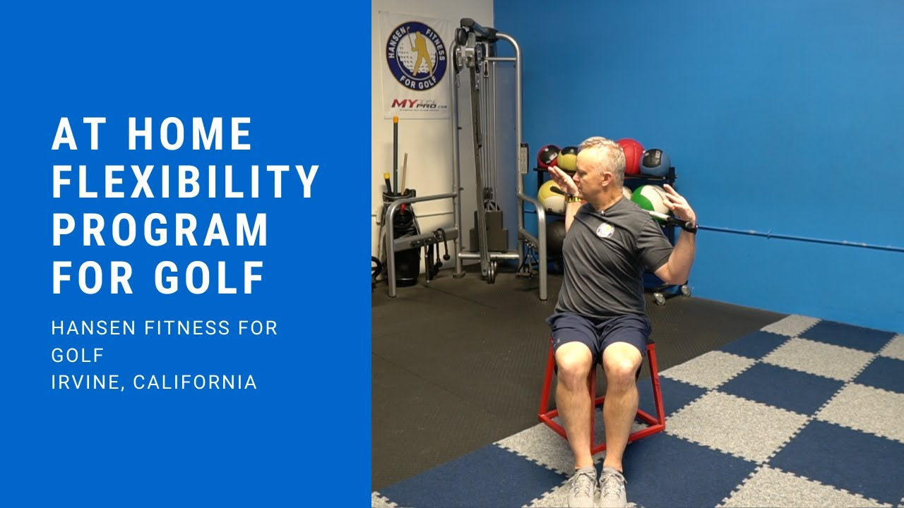 3 At Home Golf Specific Workouts! This Is Not The Time To Stop Moving