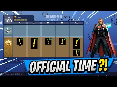 New Battle Pass Release Time Season 4 Skins Discovered