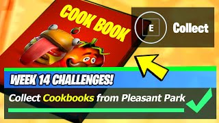 Cookbooks LOCATIONS & Collect Cookbooks from Pleasant Park and Craggy Cliffs - Fortnite