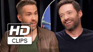Voando Alto | Ryan Reynolds entrevista Hugh Jackman | Legendado HD