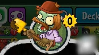 Plants vs Zombies Heroes - Unknown Card Added: Excavator Zombie