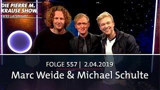 Pierre M. Krause Show vom 02.04.2019 mit Pierre, Marc und Michael