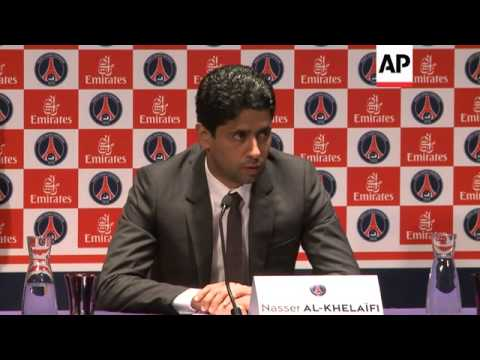 The Latest: PSG president attends UEFA meeting