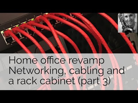 Office revamp. Network, cabling and rack cabinet (part 3)