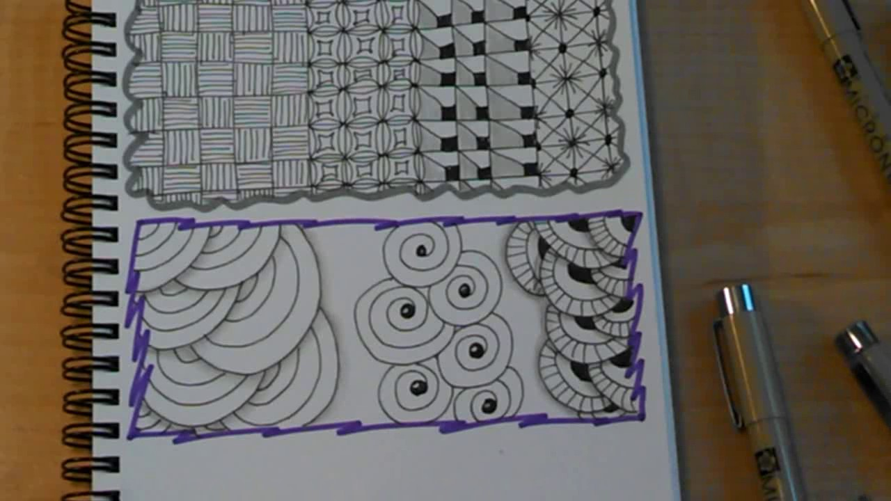 Doodle Art Patterns 007 - YouTube