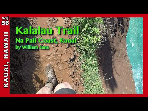 * Kalalau Trail (with drone!) - Top 10 most dangerous hikes? (06:00) (wrj56)