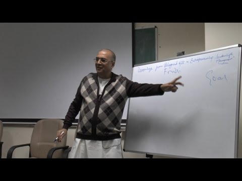 Bhagavad Gita in Entrepreneurship, Leadership and Management