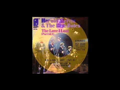 Harold Melvin & The Blue Notes - The Love I Lost (12:28 min Tom Moulton Version)