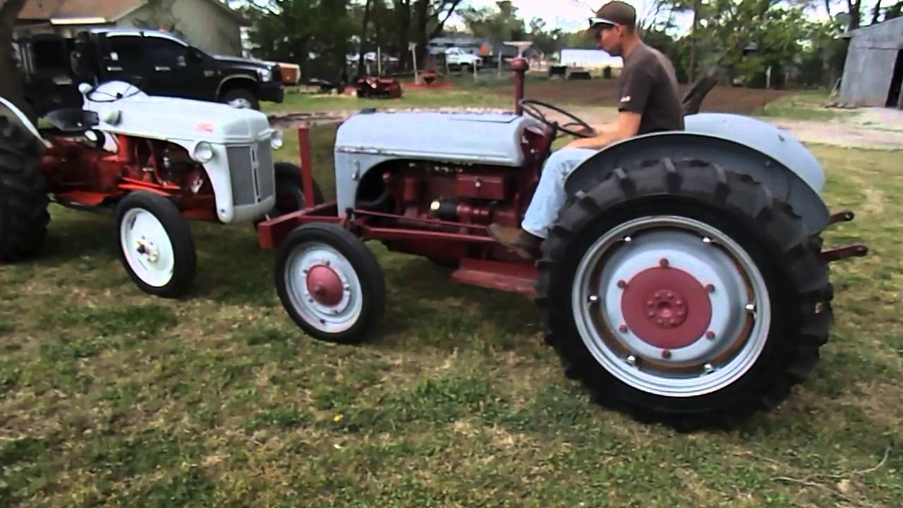 9n Ford Tractor >> Ford 8n 9n Start Up