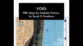 Virtual Art Opening of Sarah K. Knudtson's VOID