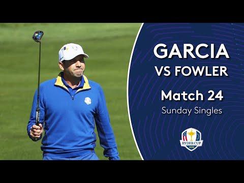 Garcia vs Fowler | Sunday Singles | 2018 Ryder Cup