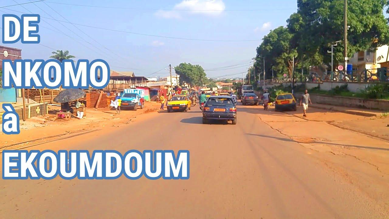Download (Yaoundé - Cameroun) De Nkomo à TOTAL Ekoumdoum - Trajet Cameroun