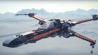 Poe's X-Wing Fighter - LEGO Star Wars - 75102 - Product Animation