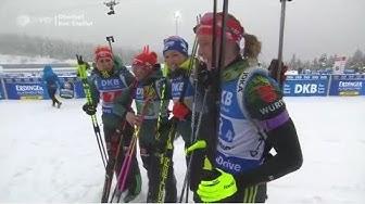 "Biathlon -  ""Oberhof 2019""  - Staffel Damen / Relay Women"