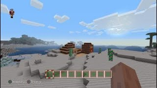 Minecraft: roll play gingerbread MAN with a guy