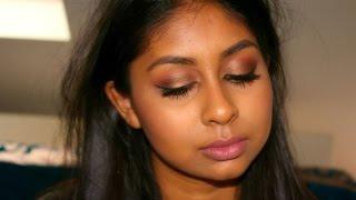 Brown Smokey Eye & Nude Lip - Tutorial