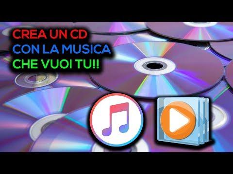 Come masterizzare MUSICA su CD - Gratis - Windows/Mac - ITA