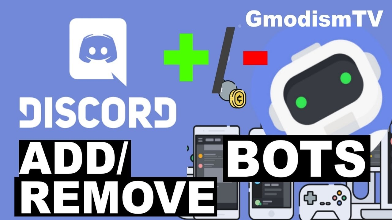 How To Remove Or Add Bots To Your Discord Server [Tutorial 2019]