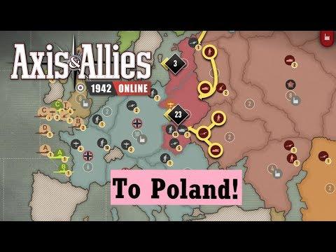 Axis & Allies 1942 Online: Game 13 vs Matt #6 Big battle for Poland |