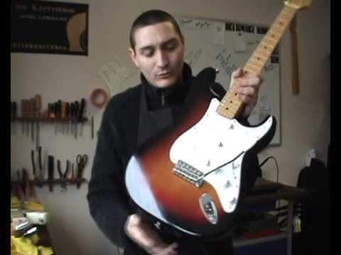 Fender Stratocaster micros EMG Gilmour