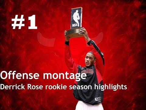 Derrick Rose Offense Highlights 2008/2009 (Part1) - Rookie of the year