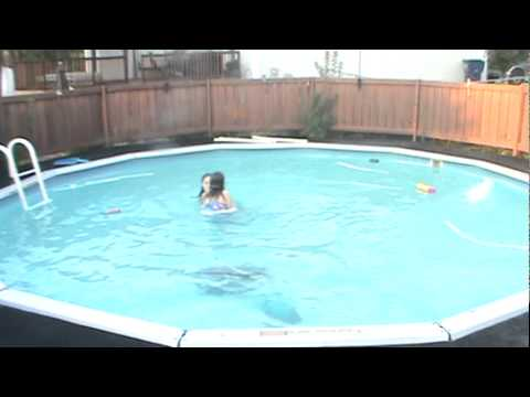 Us Dancing Swimming In The Pool Youtube