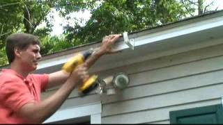 How to Install Drain Gutters Video