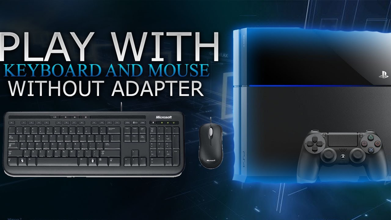How to play with KB+Mouse on PS4 without xim4 or adapter! (OUTDATED  TUTORIAL)