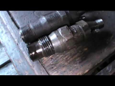 Замена форсунок ОМ 603 Мерседес W124