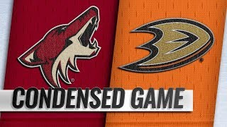 Arizona Coyotes vs Anaheim Ducks – Oct.10, 2018 | Game Highlights | NHL 18/19 | Обзор матча