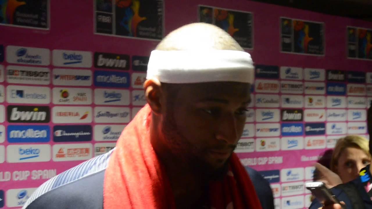 DeMarcus'o Cousins'o interviu po rungtynių su Meksika | Krepsinis.net