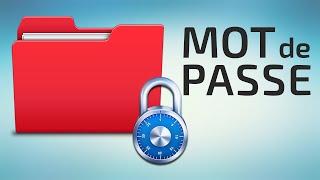 Comment mettre un mot de passe sur un dossier / fichier ► Tuto Fr