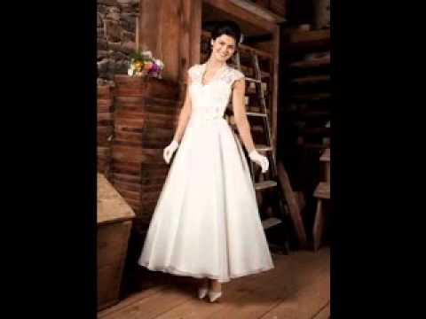 Mature bride wedding dresses - YouTube