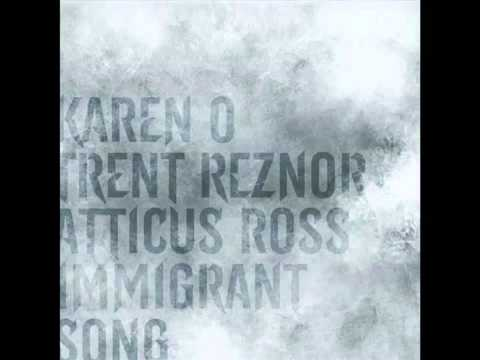 "The Girl with the Dragon Tattoo ""Immigrant Song"" -- Karen O with Trent Reznor & Atticus Ross"