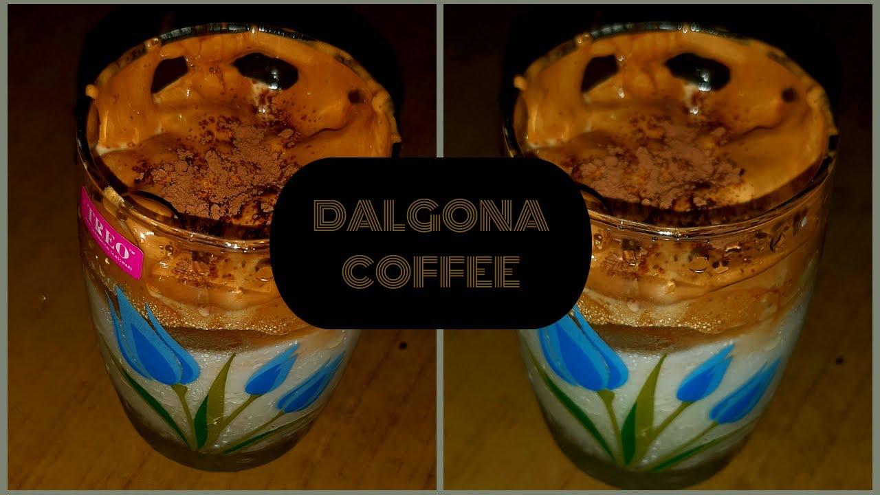 Dalgona Coffee Recipe , डलगोना कॉफ़ी - How To Make Dalgona ...