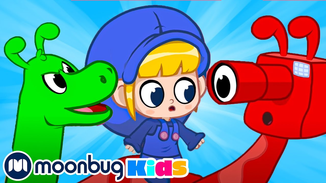 Orphle and the Dinosaurs | Morphle & MIa | My Magic Pet Morphle |  Cartoons for Kids - Moonbug Kids