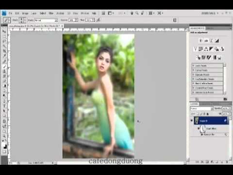 Photoshop CS4 - Phan 1 - Bai 33 - Xoa phong KTS