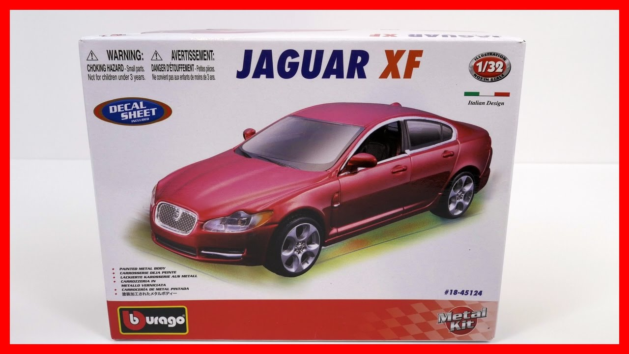 Toy Cars For Kids Model Car Jaguar XF! Bburago Italian Toy