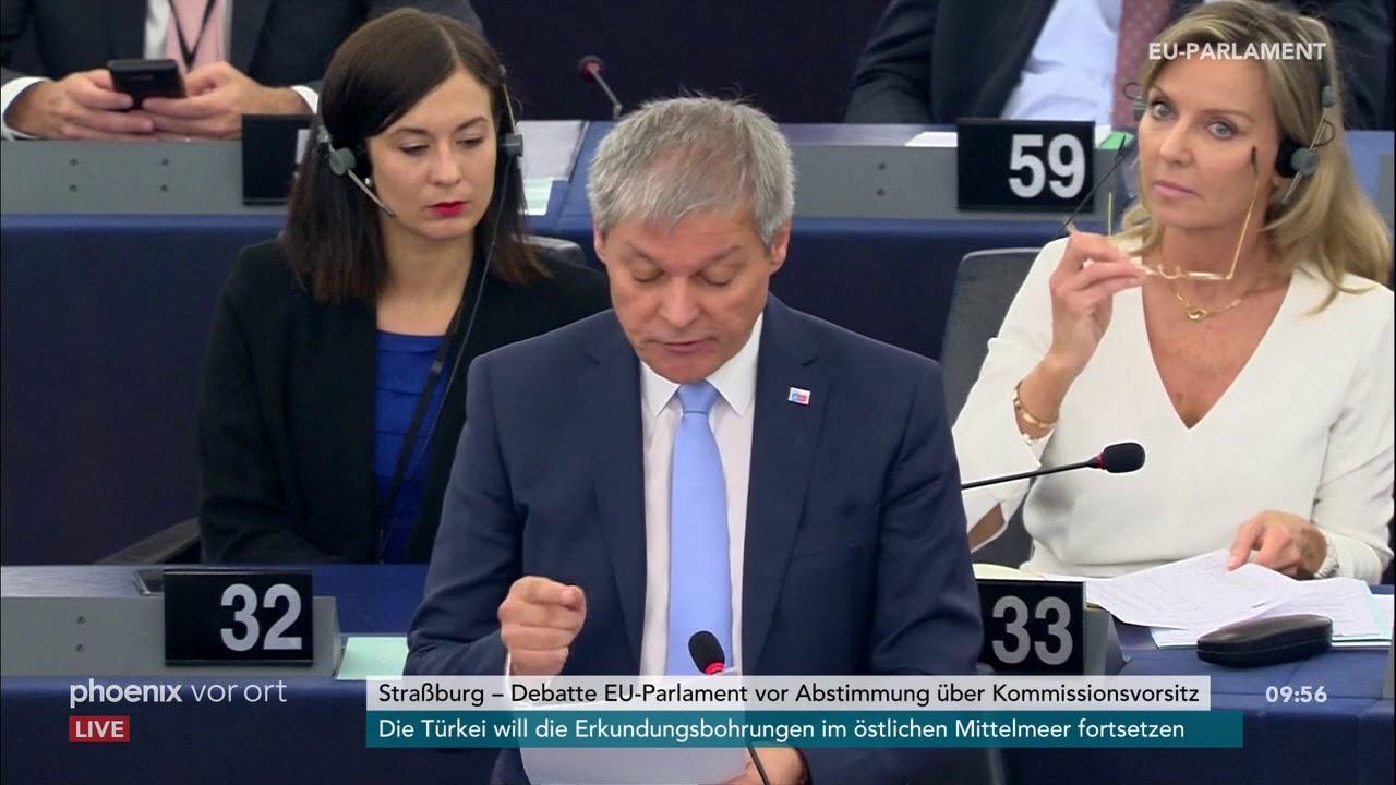 Download Dacian Ciolos zur Kandidatur Ursula von der Leyens zur EU-Kommissionsspitze am 16.07.19