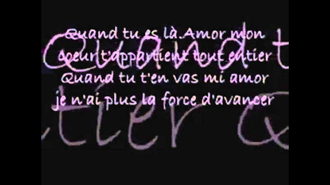 Kenza - Mi Amor (with lyrics)
