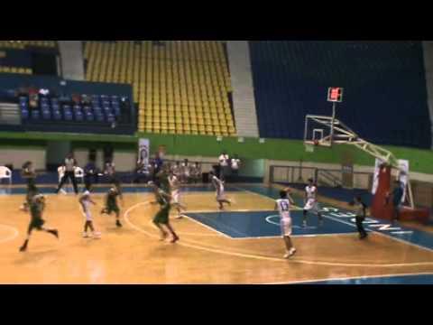 CentroBasket 2012 El Salvador vrs. Mexico