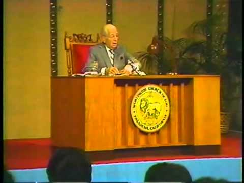 Human Survival. By: Herbert W. Armstrong