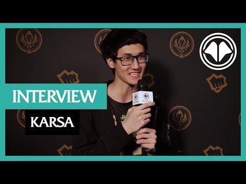 MSI 2018 : Interview de Karsa, jungler pour Royal Never Give Up