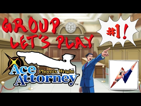 Episode 1 [The Bar] - Let's All Play Phoenix Wright: Ace Attorney