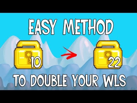 10 WLS TO 22 WLS EASY PROFIT + PROOF | Growtopia