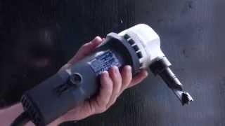 Ножиці для різання металлопрфиля ..ремонт