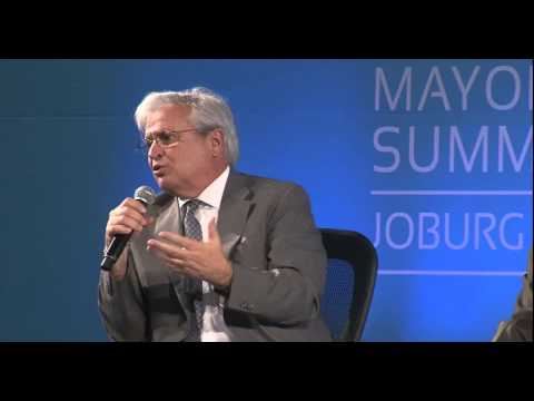 C40 Mayors Summit Plenary Session 6 - Joburg 2014